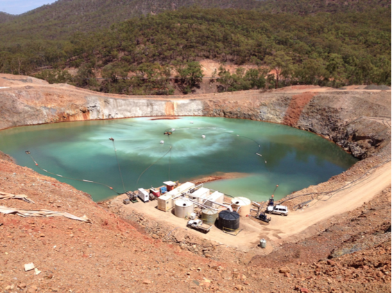 water treatment in mining image